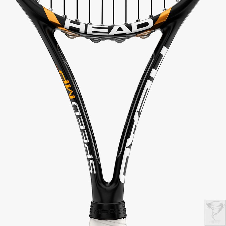 tennis racket head speed 3d model