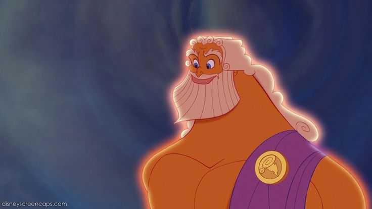 "Zeus in Disney's ""Hercules"""