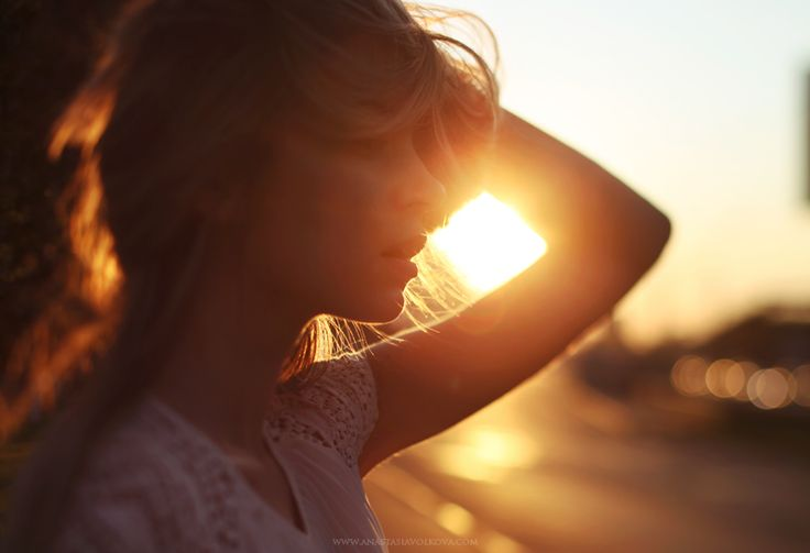 Chase the Sun by Anastasia Volkova (auto-portrait)
