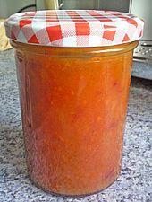 pumpkin-peach jam