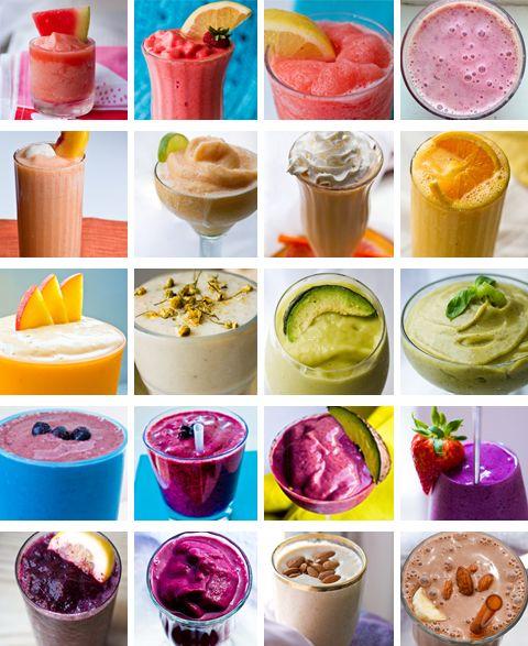20 Summer Smoothie Recipes!