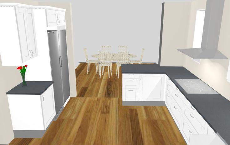 Ett Klassiskt skärgårdshus med mycket av allt. 195kvm golvyta med ett väggliv på 1,2m på överplanet.Kan enkelt göras om till både 2-plans hus och 1,5-plans hus. Stora ytor för kök, matplats och Vardagsrum. Övervåning med 4stora sovrum bad och Allrum. bild som i New England stil.