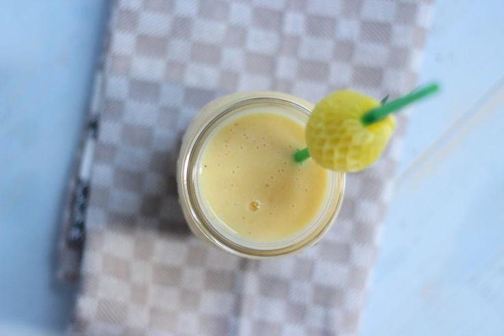 Perzik smoothie