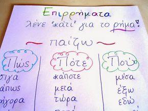 Πώς, Πότε, Πού; Μια άσκηση για τα Επιρρήματα στη Δυσλεξία! Dyslexia and adverbs!