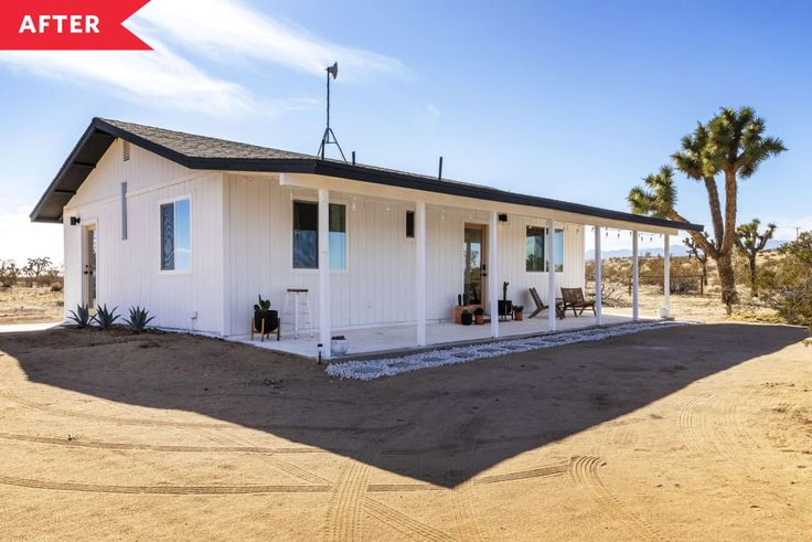 Before & After: A Run-Down Desert House Is Completely ...