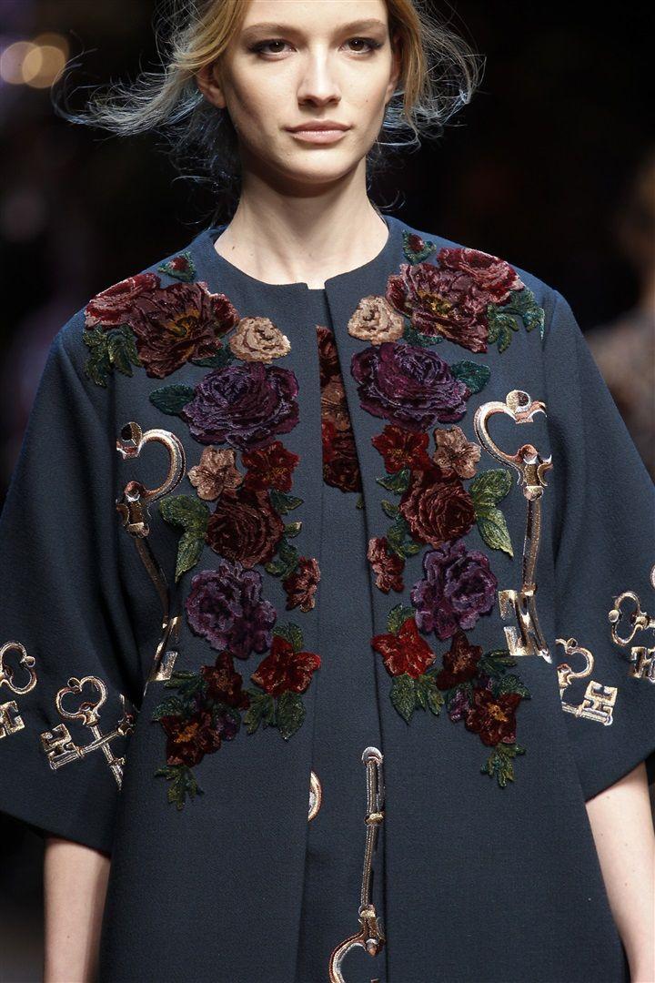 Dolce & Gabbana 2014-2015 Sonbahar/Kış Detay