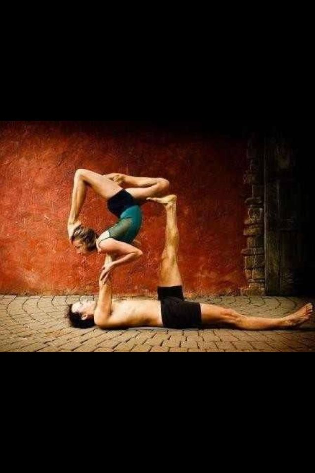 Partner yoga! Definitely!