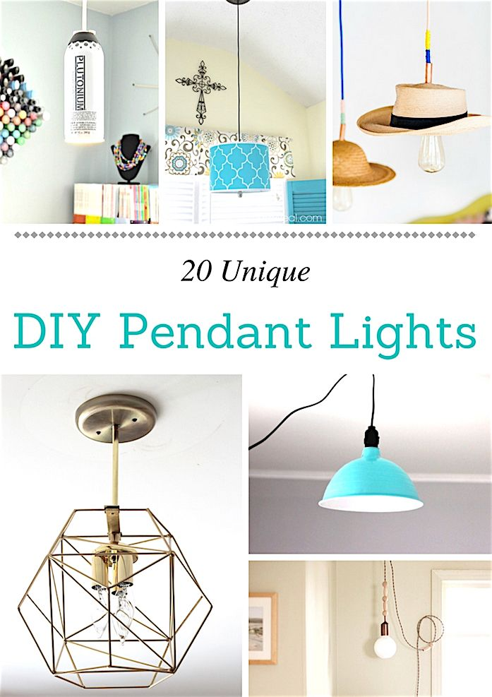 Best 20 unique pendant lights