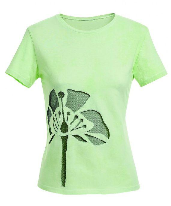 Как украсить футболку вырезной цветком | BurdaStyle.ua: Мода, Дизайн, Рукоделие, Выкройки