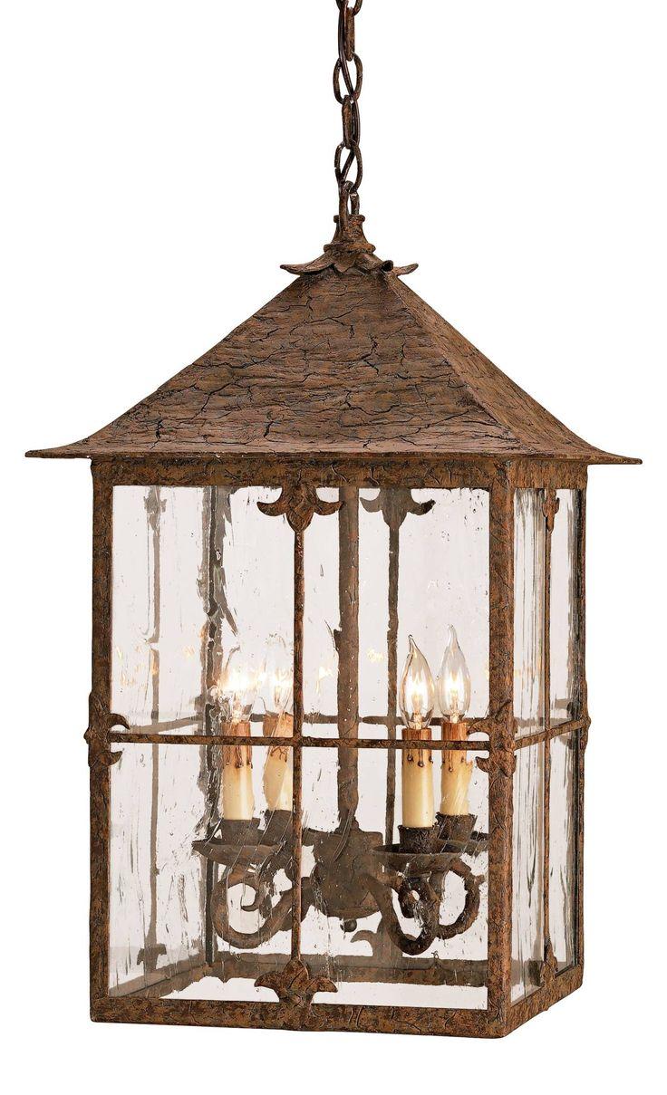 Beach house lighting - Bellamy Lantern 4lt Pendant
