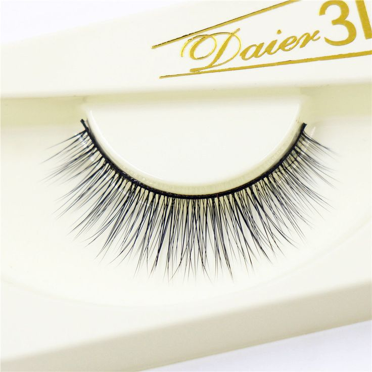 3D False Eyelashes Messy Cross Thick Natural Fake Eye Lashes Professional Makeup Handmade Exquisite Packaging 3D-10 #Affiliate