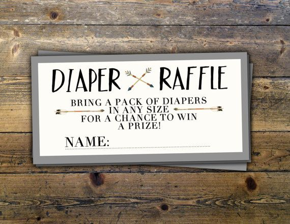 POW WOW Baby Shower, diaper raffle ticket, Teepee Baby shower Invite, boho baby shower invite,boy, invitation, BOHO invitation, Tribal,