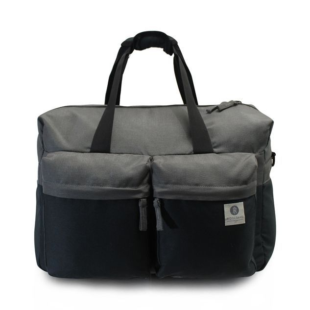Ridgebake Weekender Bag - Dove & Charcoal