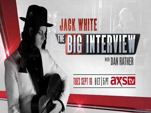 Video: Jack White Talks with Dan Rather, Takes Shots at Rolling Stone and Foo Fighters in Boston : Blogs : Relix