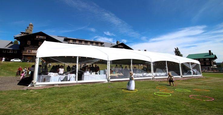 Wedding at Glacier Park Lodge in East Glacier, just outside Glacier National Park.