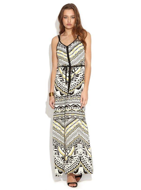 Intermix Maxi Dress by Wish