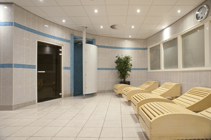 Saunas at the neighbouring HealthCity next to Inntel Hotels Amsterdam Centre