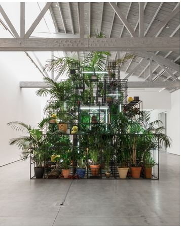 Rashid Johnson - Islands - David Kordansky Gallery