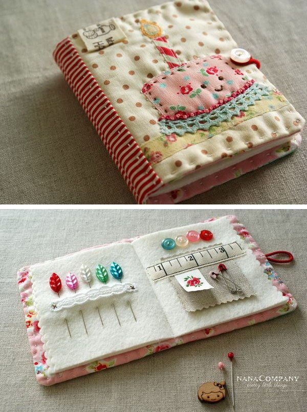 DIY Practical Needlebook. See how to do it
