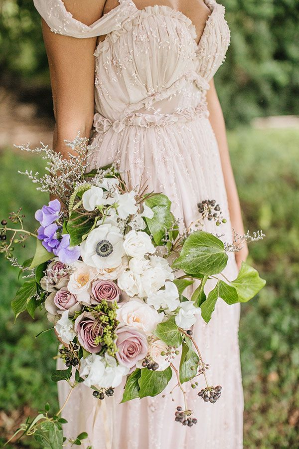Whimsical Enchanted Forest Wedding Dream On Soft Beds Of Green | Photograph by What a Day! Photography  http://storyboardwedding.com/whimsical-enchanted-forest-wedding/