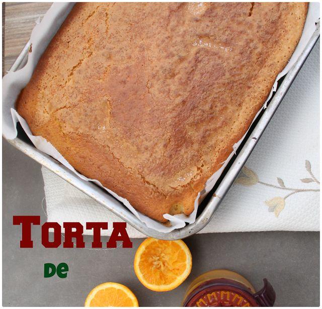 MI ADORABLE COCINA: TORTA DE NARANJA