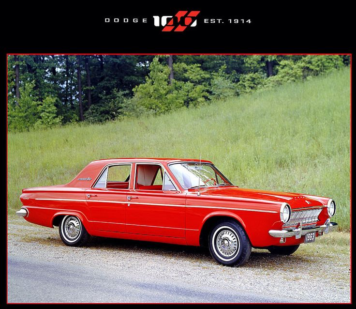 1963 DODGE DART 270 SEDAN (USA)