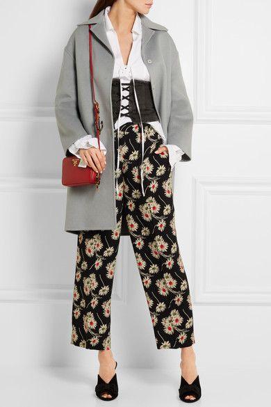 Prada - Wool, Angora And Cashgora-blend Coat - Gray - IT44