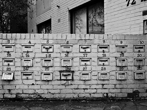 Symmetry - Postal boxes Flickr - https://www.flickr.com/photos/123419261@N02/ Tumblr - ozpicday.tumblr.com