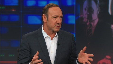 The Daily Show with Jon Stewart: Kevin Spacey | Hulu Mobile Clips | House of Cards