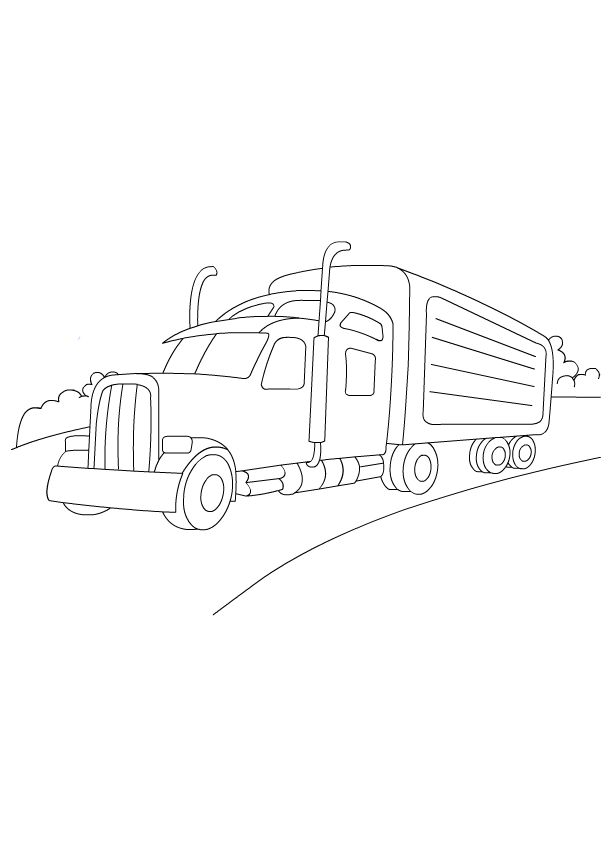 coloring pages for transportation units - photo#6