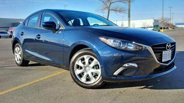 2016 Mazda Mazda3 GX Sedan – Lease Busters w/ Cash Incentive (Ajax) $295