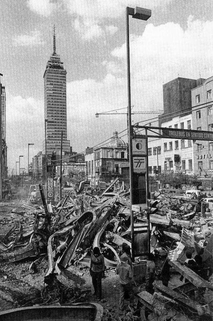 [México] CRÓNICA: SOMOS EL MUNDO (a 29 años de los terremotos en la ciudad de México)