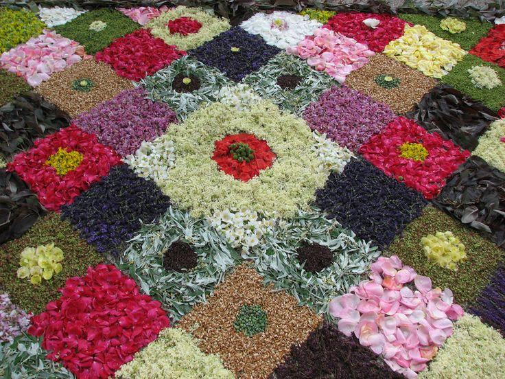 Budaors, Hungary Budaörs flower carpet (a tradition in springtime)