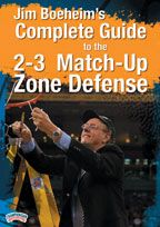 #Basketball DVD - Jim Boeheim's Complete Guide to the 2-3 Match-up Zone Defense - Coach's Clipboard Basketball DVD Store