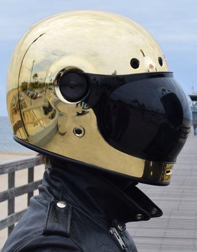 Tankfarm x Bell Helmet Gold Bullitt - Pre Order ONLY : Tankfarm & Co.