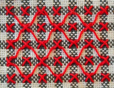 chicken scratch embroidery - Buscar con Google