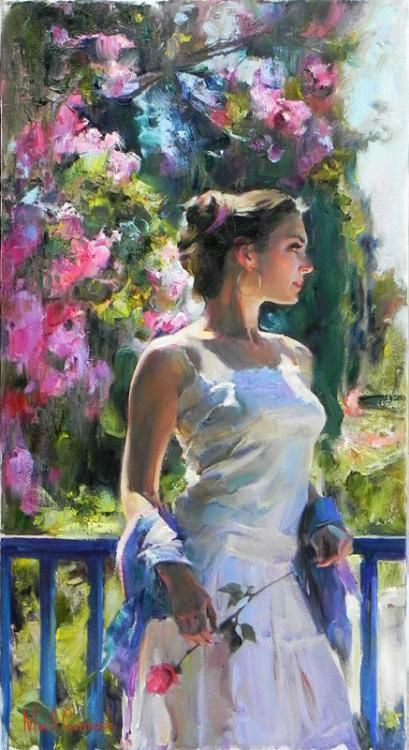 •❈•  Michael and Inessa Garmash, A Moment Alone!