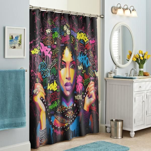 Black Boujee Shower Curtain In 2020 Traditional Shower