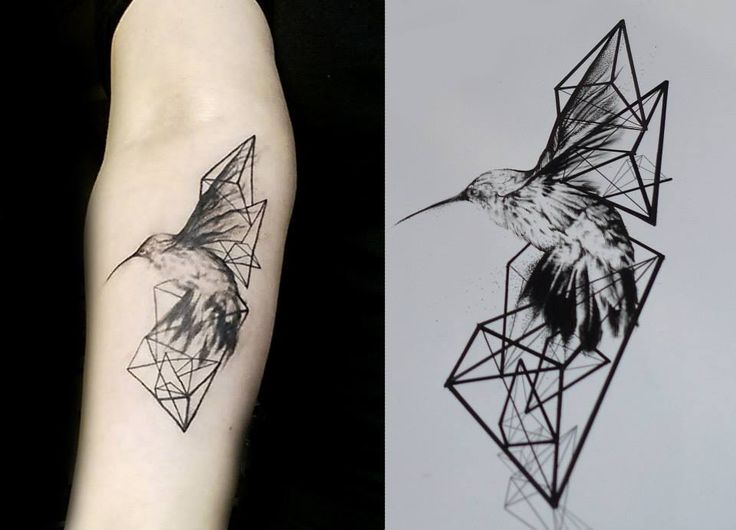 This piece of art has been created by Malvina, who works as a tattoo artist at Scratchline Tattoo, Kentish Town. She specialises in geometric and graphic tattoo styles Tattoo Art, Geometric, Graphic, Black, Grey, White, Red, Birds, Skulls