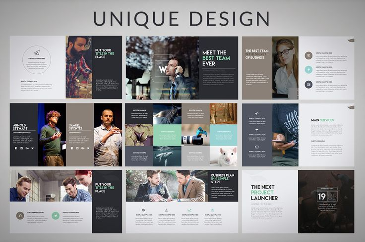 Wava | Powerpoint template + Bonus by Zacomic Studios on @creativemarket