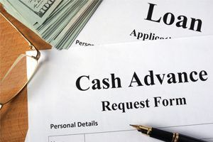 Cash advances are a small amount, quickly approved, short