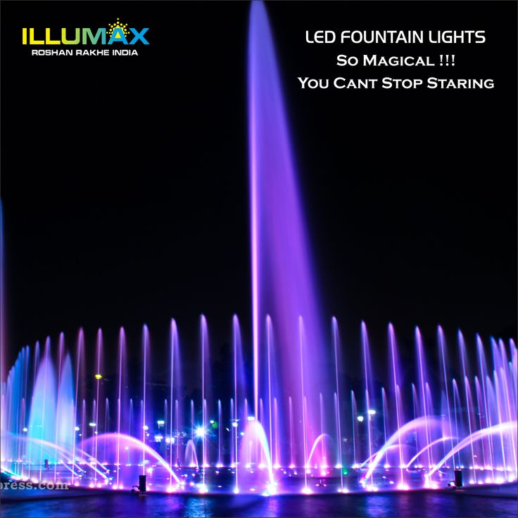 LED fountain lighting is a featured ornamental showpiece to give a dramatic and visual effect. When it come to the design and the situation of a fountain, the LED lights placement is crucial for a fountain set up #LEDfountainlighting #Illuminationsystems  http://www.illuminationsystems.in/products/LED-Fountain-Lights/