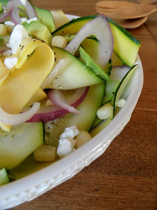 17 Best ideas about Zucchini Ribbon Salad on Pinterest ...