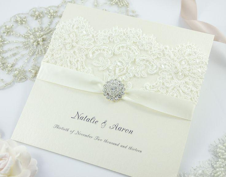 'Madison Avenue' invitations by The Boutique Paper Co.  www.theboutiquepaperco.com.au