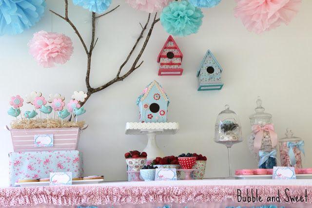 Bubble and Sweet: 6ème douce fête d'anniversaire faits anniversaire de Sophie