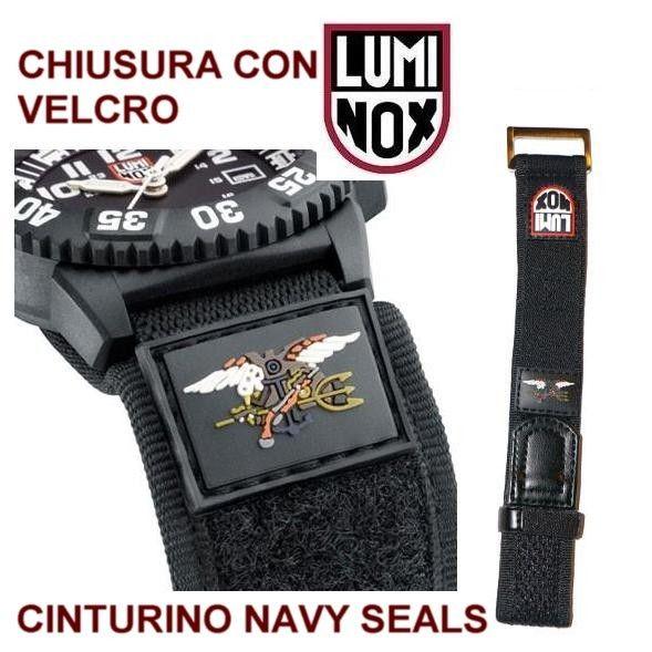 Luminox Navy Seals cinturino logo colorato