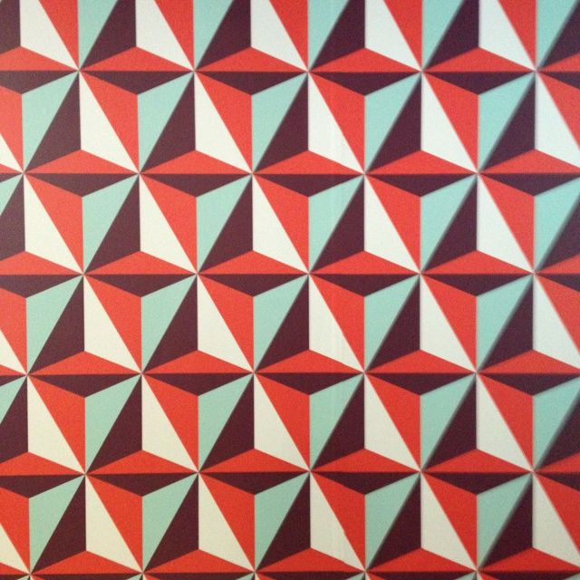 3d Modern Wallpaper Designs Red Maroon Blue Amp White Triangular Geometric Pattern