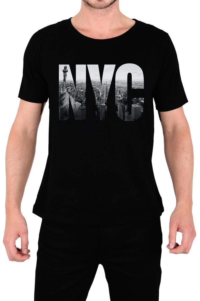 $179.00 Playera New York City Logo - Comprar en Jinx