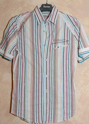 À vendre sur #vintedfrance ! http://www.vinted.fr/mode-hommes/chemises/28038501-tres-belle-chemisette-t-m-marque-semco-tbe