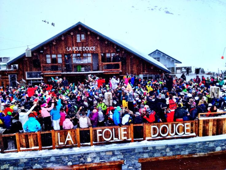 Look for Snow Sugar this year at La Folie Douce in France!!  The World's Best Party on the Snow!!